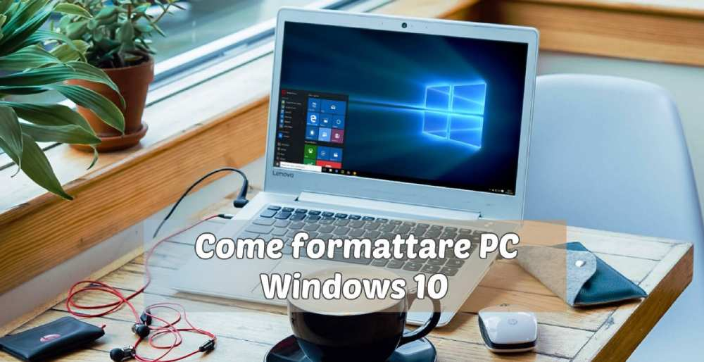 Come formattare PC Windows 10